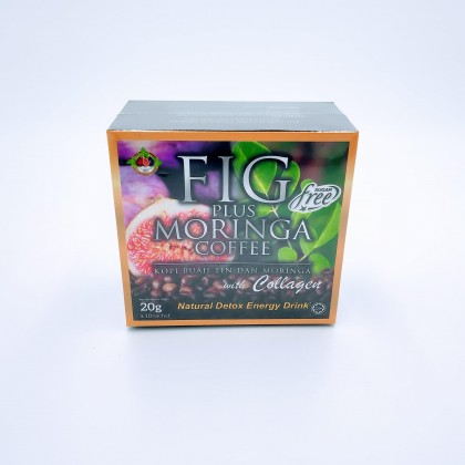 Fig plus Moringa Coffee with Collagen